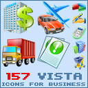Business Icons for Vista