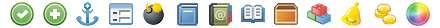 24x24 Free Pixel Icons