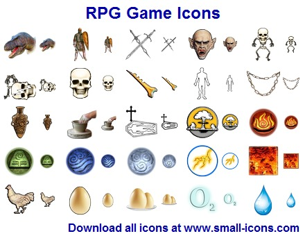 RPG Game Icon Pack full screenshot