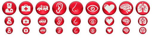 Ruby Medical Icons