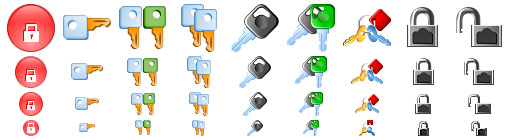Security Softwareb Icons
