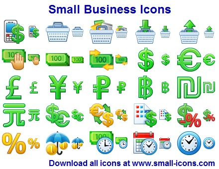 Click to view Small Business Icons screenshots