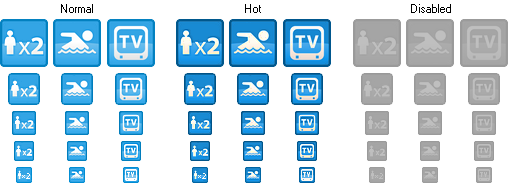 Small Hotel Icons