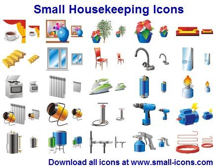 Small Housekeeping Icons screenshot