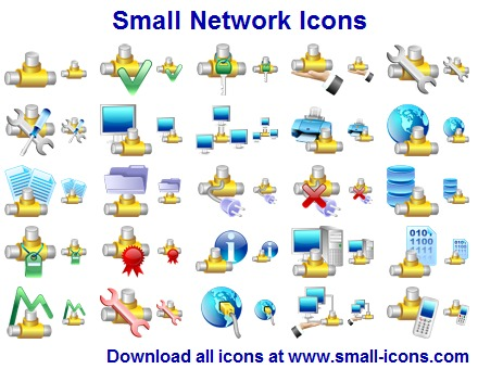 Click to view Small Network Icons screenshots