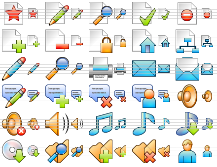 Click to view Small Online Icons screenshots