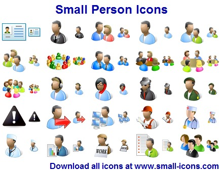 Small Person Icons Screenshot