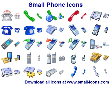 Click to view Small Phone Icons screenshots