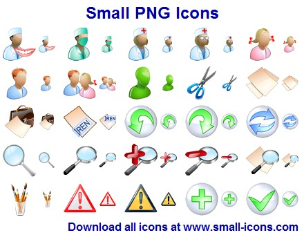 Click to view Small PNG Icons screenshots