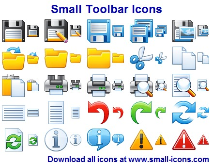 Click to view Small Toolbar Icons screenshots